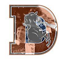 Peyton Manning Broncos Photographic Print