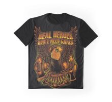 Great Firefighter Graphic T-Shirt