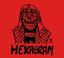 BOOTLEG WRASSLER HEXAGRAM Unisex T-Shirt