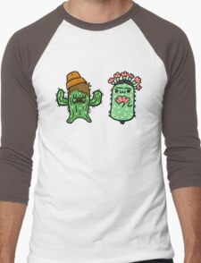 Prickly Pair Men's Baseball ¾ T-Shirt
