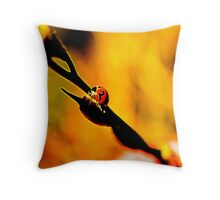 #JoBLING Ladybug Throw Pillow
