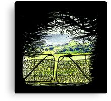Gates Canvas Print