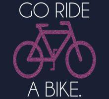 go ride a bike! Kids Tee