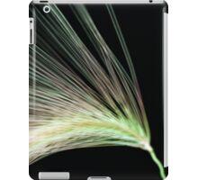 A Foxtail Seed In Flight - Macro iPad Case/Skin