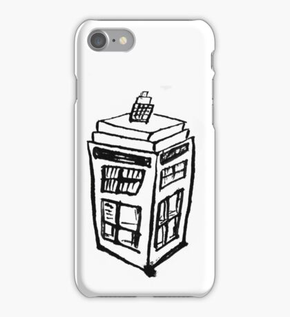 TARDIS  2 iPhone Case/Skin