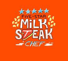 Five-Star Milk Steak Chef Unisex T-Shirt