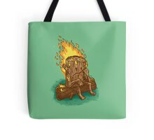 Bad Day Log Tote Bag