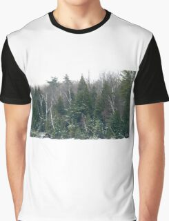 Haze morning around the lake  Graphic T-Shirt