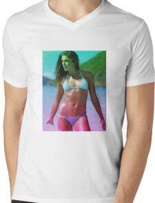 Alex Morgan  Mens V-Neck T-Shirt