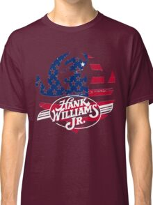 great hank williams Jr country music Classic T-Shirt