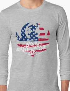 great hank williams Jr country music Long Sleeve T-Shirt