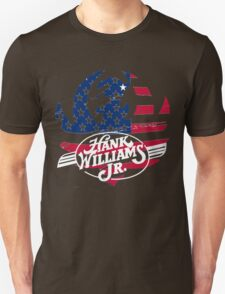 great hank williams Jr country music Unisex T-Shirt