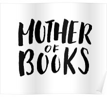 Mother of Books (White) Poster