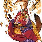 Maple Kitsune by meredithdillman