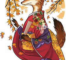 Maple Kitsune by meredithdillman