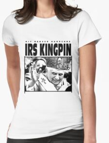 IRS KINGPIN DENVER HARDCORE Womens Fitted T-Shirt