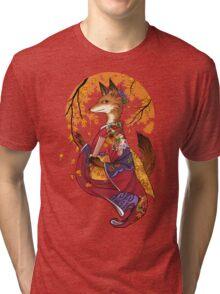 Maple Kitsune Tri-blend T-Shirt