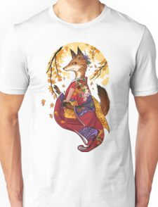 Maple Kitsune Unisex T-Shirt