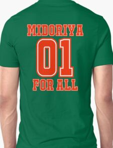 Midoriya One For All Jersey T-Shirt