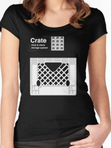 Crate System Women's Fitted Scoop T-Shirt