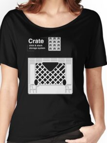 Crate System Women's Relaxed Fit T-Shirt