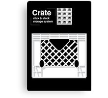 Crate System Canvas Print