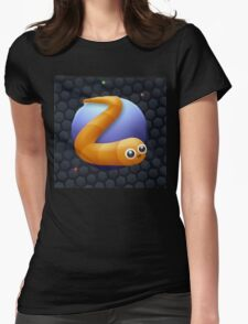 SLITHER.IO Womens Fitted T-Shirt