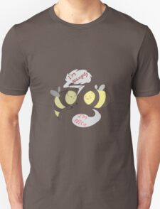 Wasps are Naughty, Bees are Nice T-Shirt