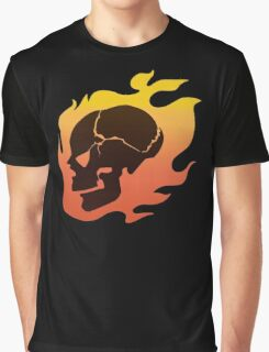 Persona 4: Kanji Tatsumi Summer Outfit Skull Graphic T-Shirt