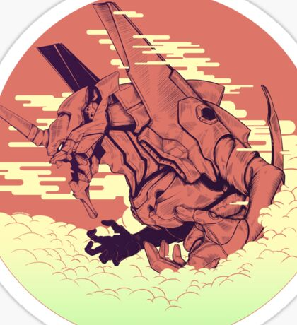 Unit 01 [Neon Genesis Evangelion] Sticker