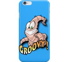 Groovy Worm  iPhone Case/Skin