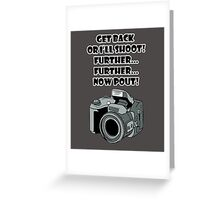 Point & Shoot Greeting Card
