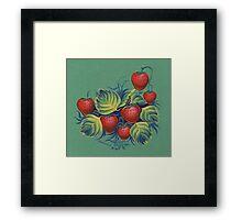 Strawberry glade Framed Print
