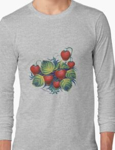 Strawberry glade Long Sleeve T-Shirt