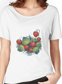 Strawberry glade Women's Relaxed Fit T-Shirt