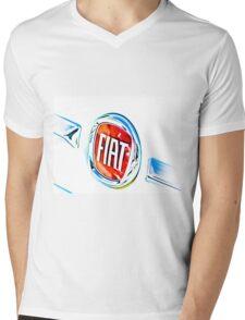 FIAT- Fabbrica Italiana Automobili Torino  Mens V-Neck T-Shirt