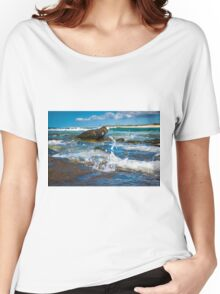 Making a Splash at Caloundra Women's Relaxed Fit T-Shirt