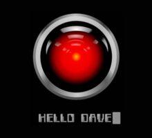 Hello Dave - A Space Odyssey Sticker