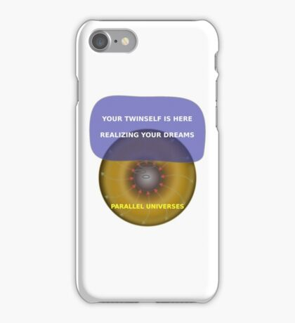 Parallel Universes - Twinself iPhone Case/Skin