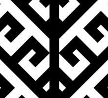 Yggdrasil - Black Sticker