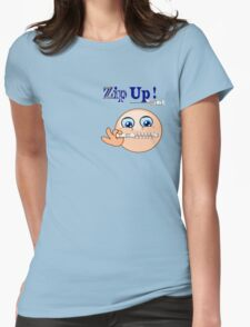 Zip Up ! (7646 Views) Womens Fitted T-Shirt