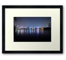 Thu Thiem Bridge Framed Print