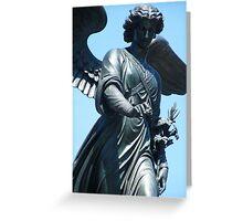 Bethesda Fountain Statue Greeting Card