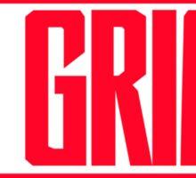 RL GRIME Red Logo Sticker