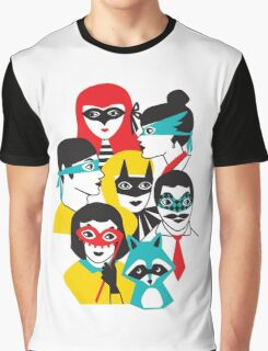 Masquerade Guests Graphic T-Shirt