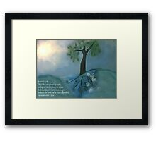 Like a tree planted by water Framed Print