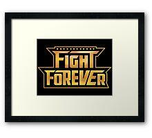 WWE Takeover Fight Forever Chant Framed Print