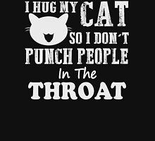 I hug my cat Unisex T-Shirt