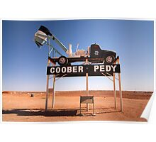 Welcome to Coober Pedy Poster