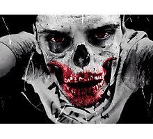 Zombie-Blood Photographic Print